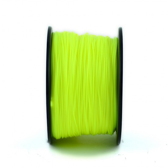 3.0mm light yellow ABS filament