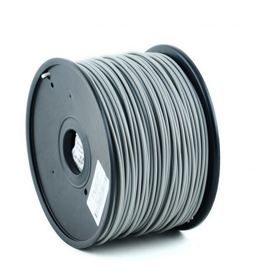 3.0mm mat grey ABS filament f&m