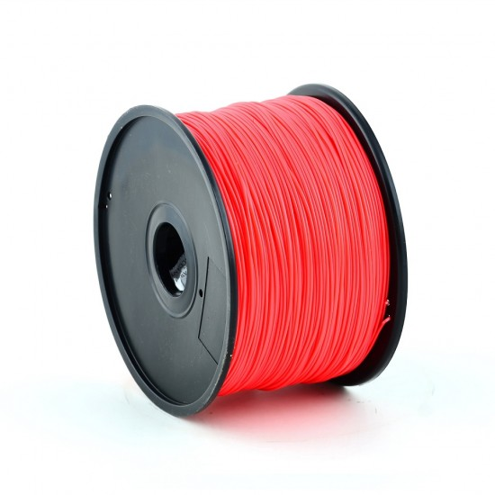 3.0mm red ABS filament f&m