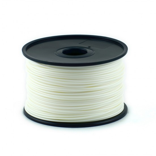 3.0mm white ABS filament
