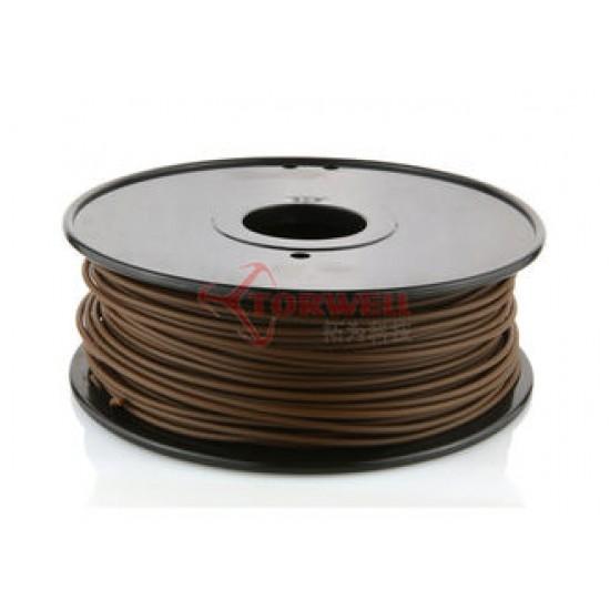3.0mm dark brown wood filament