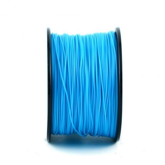 3.0mm cyan PLA filament