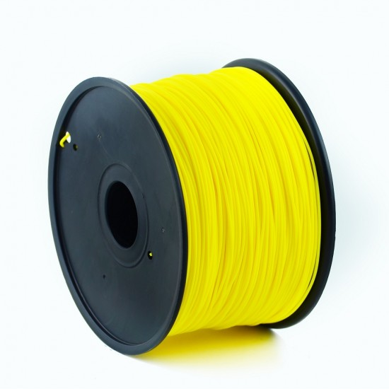3.0mm dark yellow PLA filament f&m