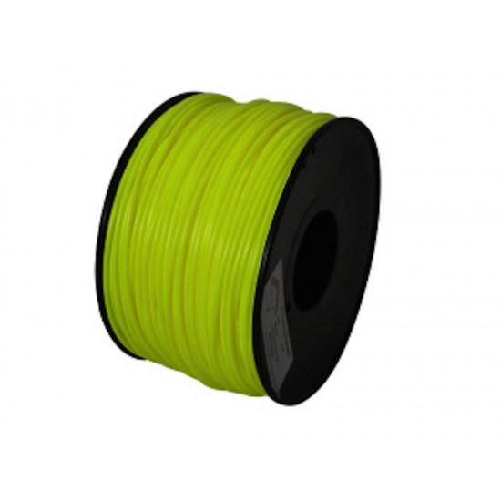 3.0mm yellow PLA filament