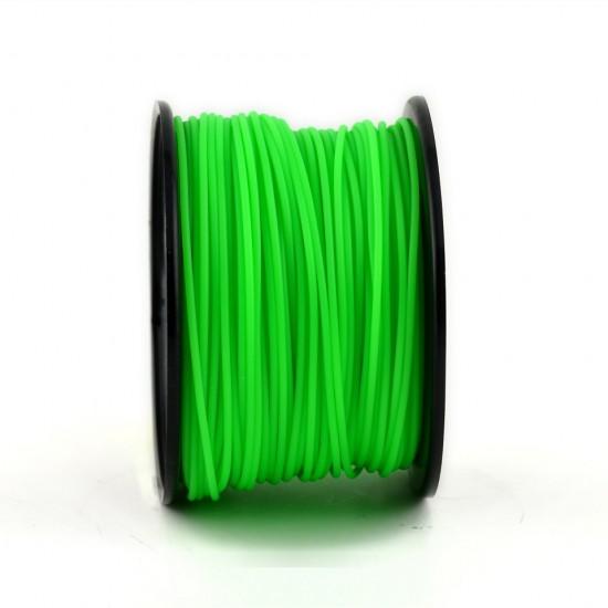 3.0mm green PLA filament