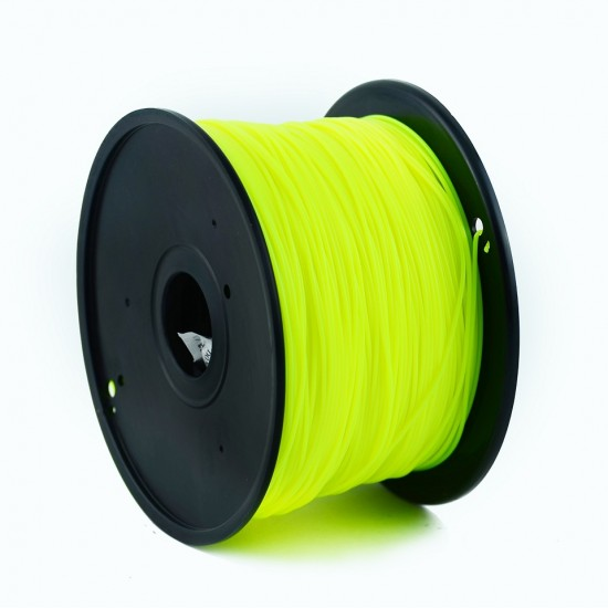 3.0mm light yellow PLA filament