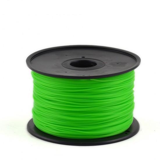 3.0mm lime green PLA filament