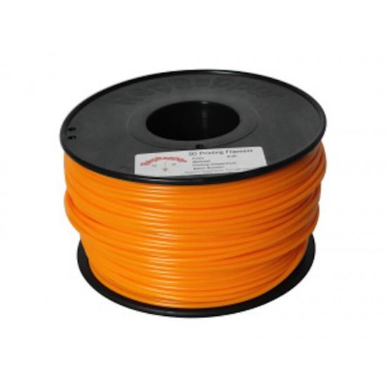 3.0mm orange PLA filament