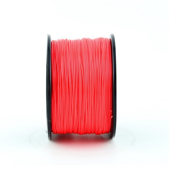 3.0mm red PLA filament f&m