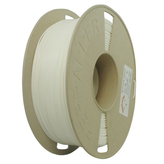 3.0mm white PLA filament