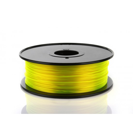 3mm yellow PETG filament