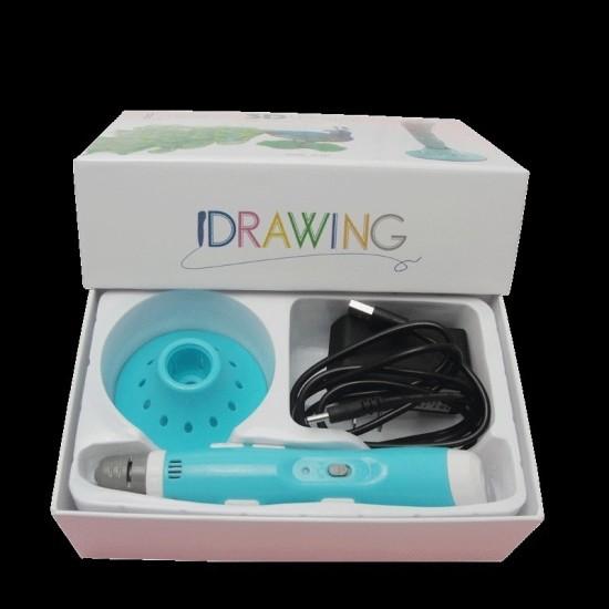 3D pen blue