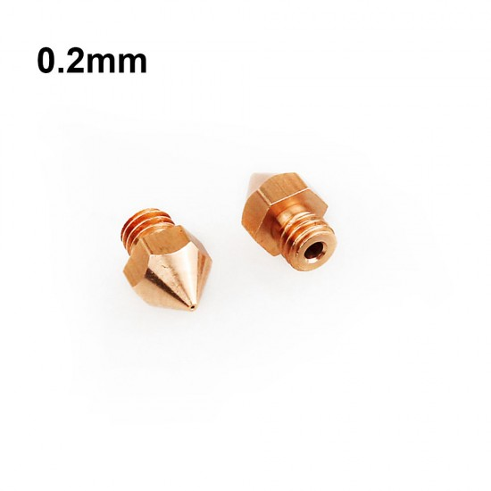 0.2 mm nozzle for all metal hotend