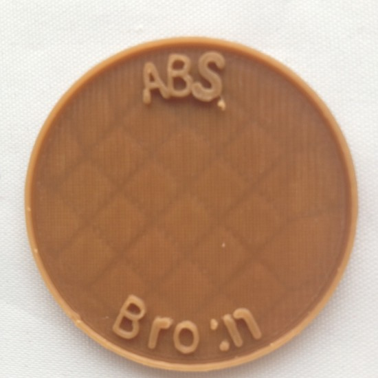 1.75mm brown ABS filament