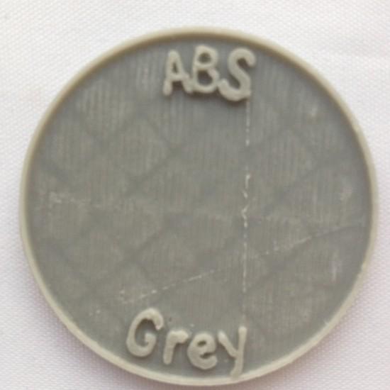 1.75mm mat grijs ABS filament