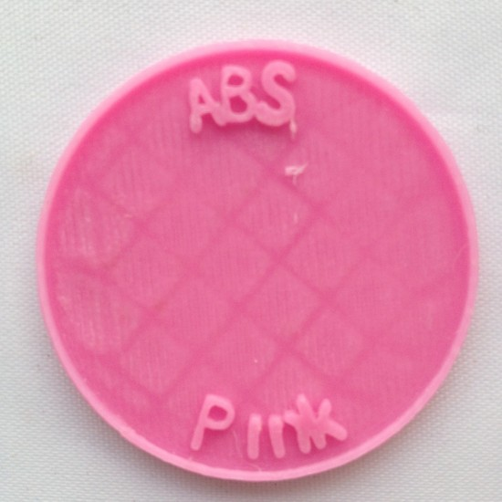 1.75mm pink ABS filament