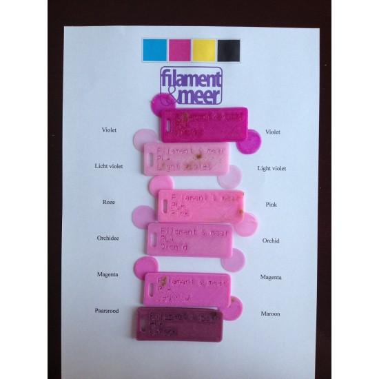 3.0mm pink PLA filament
